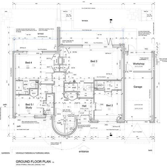 house plans, building regs, building specification, alterations, extensions